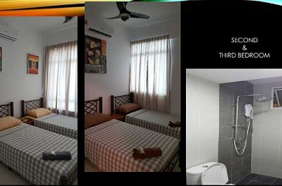 Homestay Penang SohoSuite 3 Bedrooms Suite
