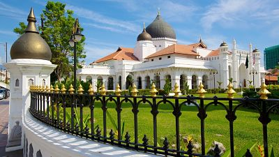 Penang Island Best Attractions Places - Masjid Kapitan Keling