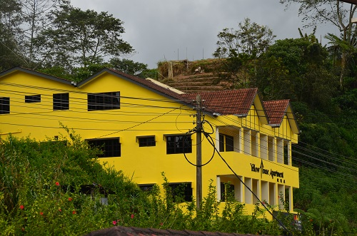 yellow house apartment cameron highlands