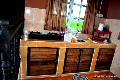 homestay air manis dapur