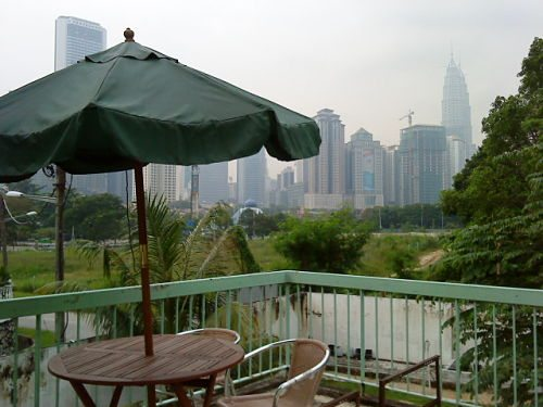 klcc panorama from homestay agro city
