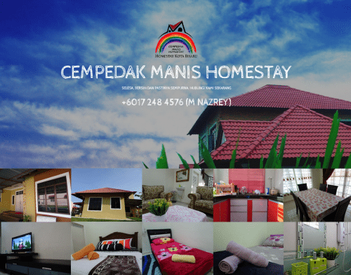 Overview of Cempedak Manis Homestay