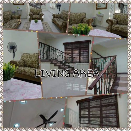 Living Area of Cempedak Manis Homestay