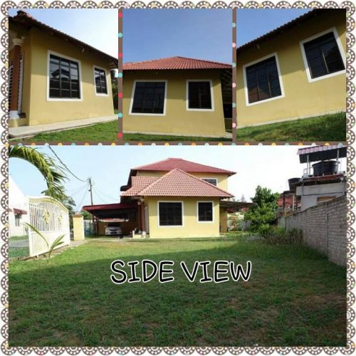 Side View of Cempedak Manis Homestay