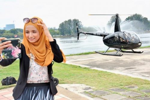 Spend Only USD48.54 Enjoy Kuala Lumpur Helicopter Air Tour