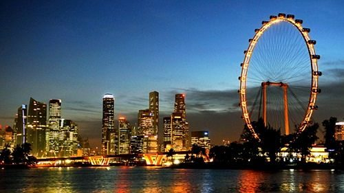 Singapore Top-Rated Tourist Attractions Ferris Wheel