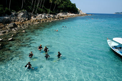 Tioman island one of the most beautiful beaches