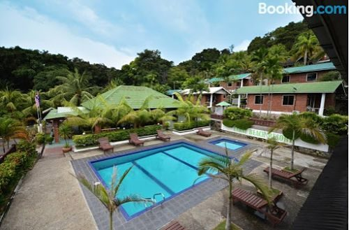 Endau Beach Resort In Johor With Swimming Pool Vacation Drove