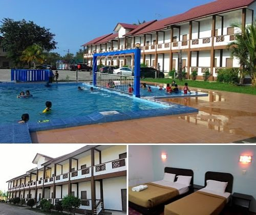 Home Beach Village Resort In Kelantan With Swimming Pool
