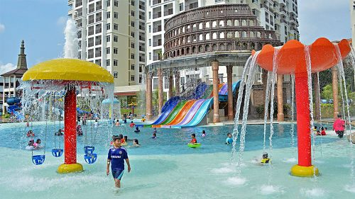 Bayou Lagoon Park Resort In Melaka With Swimming Pool
