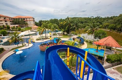 Amverton Heritage Resort In Melaka With Swimming Pool