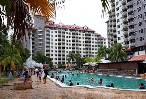 Glory Beach Resort In Negeri Sembilan With Swimming Pool