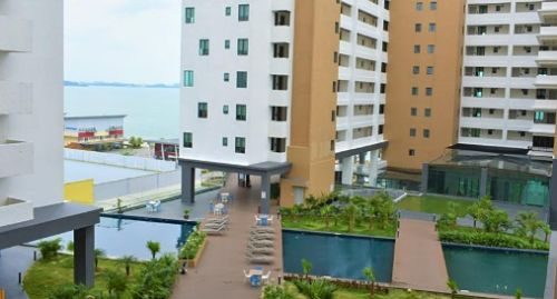 D' Wharf Hotel & Serviced Residence Resort In Negeri Sembilan With Swimming Pool