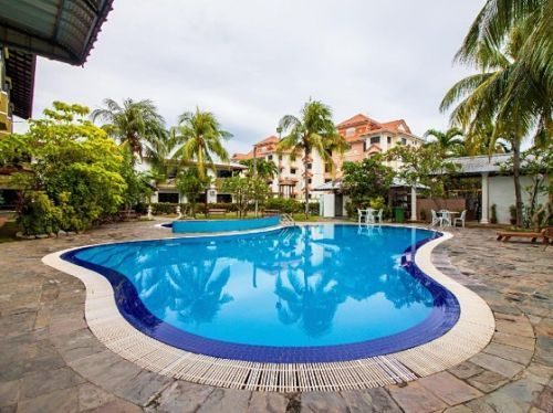 Klebang Beach Resort In Melaka With Swimming Pool