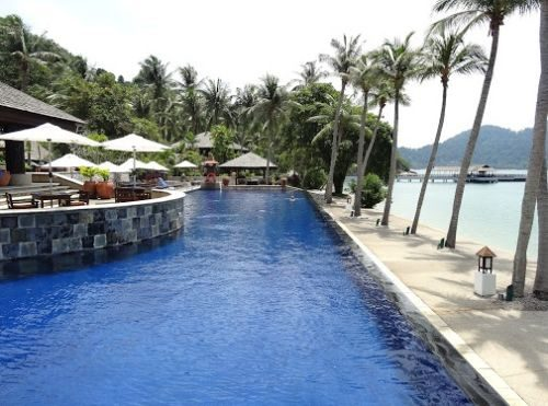 Pangkor Laut Resort In Perak With Swimming Pool Vacation Drove