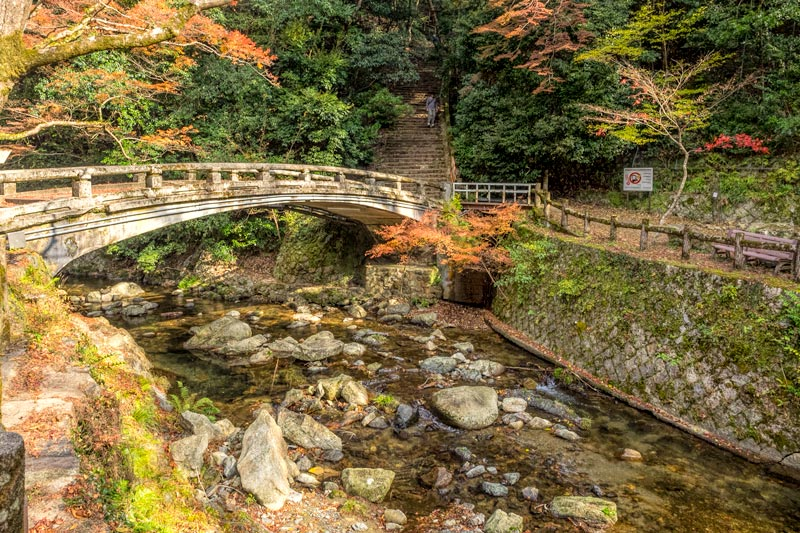 Bridge in Minoo Park