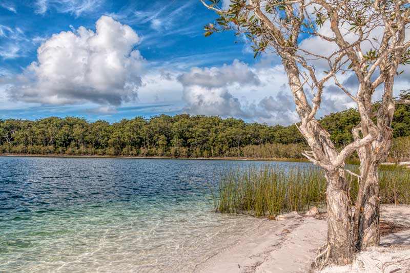 Lake Mackenzie on Fraser Island