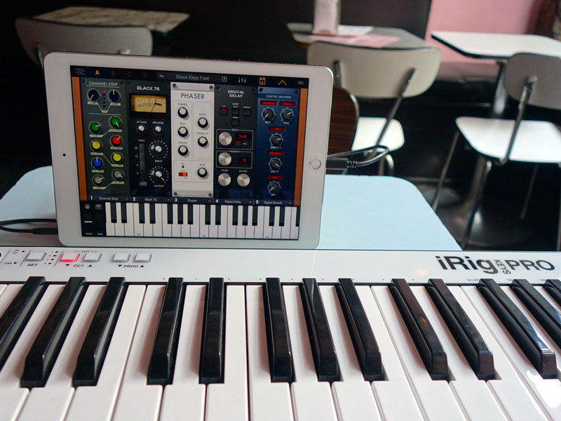 Irig Keys Pro on travel