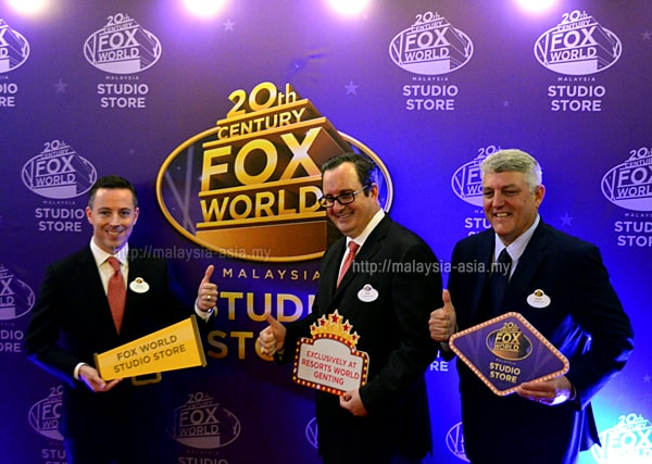 20th Century Fox World Studio Store Genting Malaysia