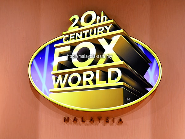Logo of 20th Century Fox World Malaysia