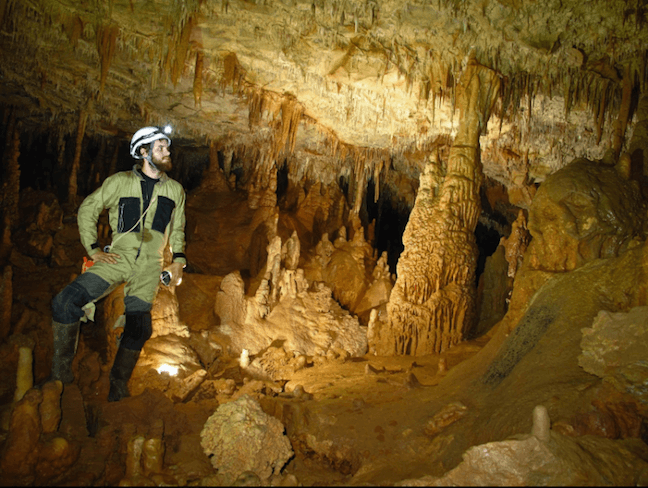 Spelunking in North Georgia