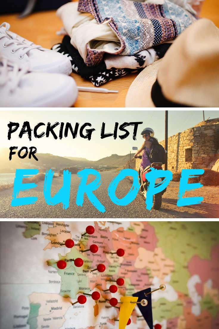 Packing Listing for Europe The Final Preparation Information