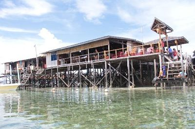 Homestay Pulau Mabul Spheredivers Lodge