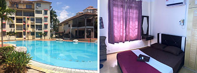 PD Perdana Homestay Pool Side